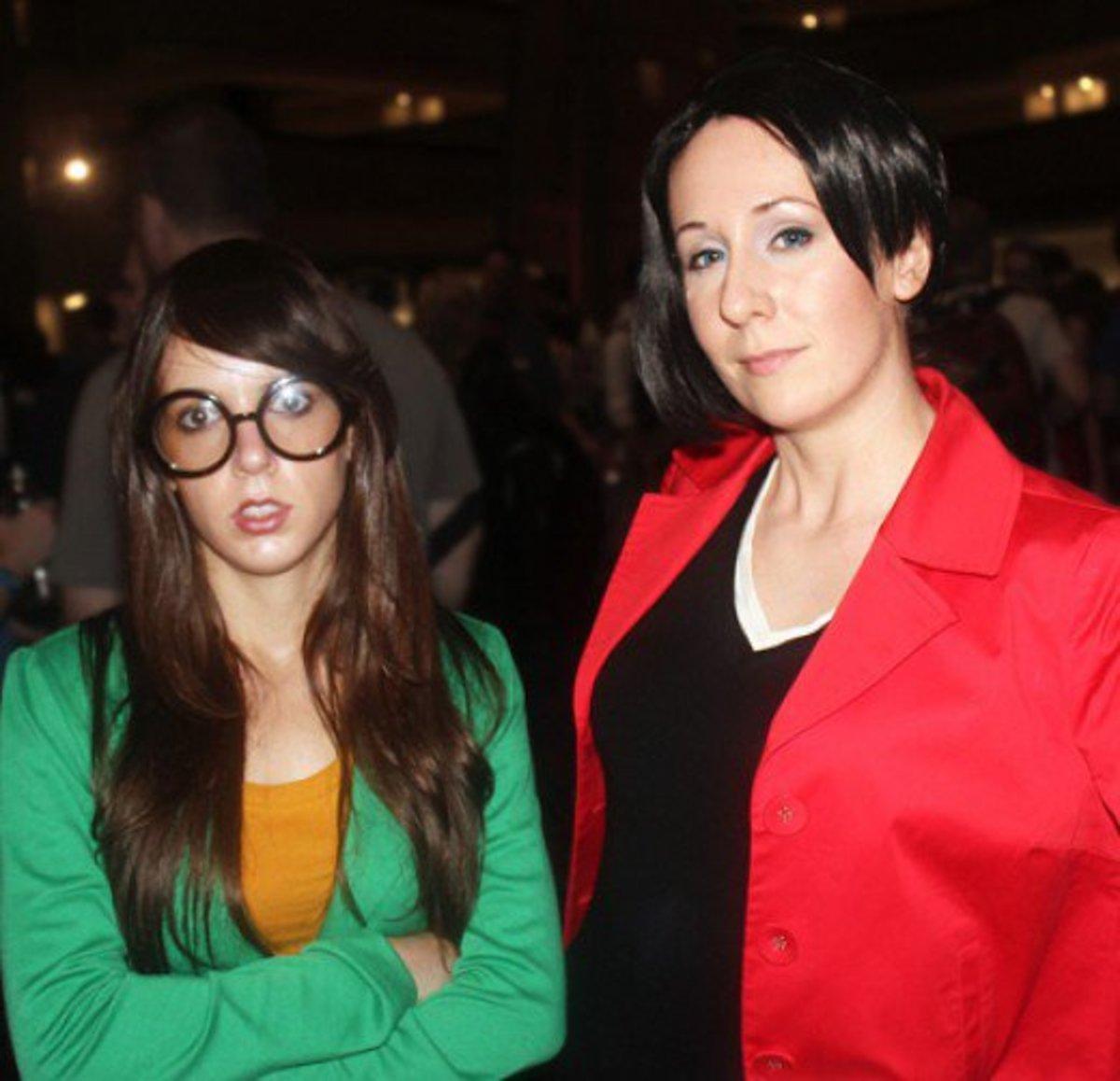 Daria and Lane Costume