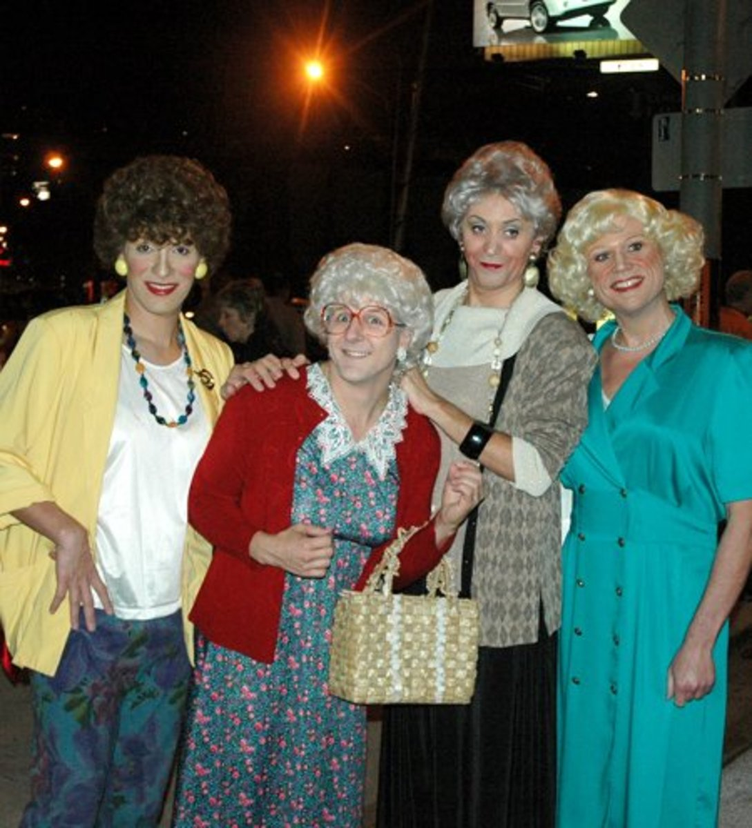 Golden Girls Group Costume | 101 Halloween Costume Ideas for Women  sc 1 st  Holidappy : funny costume ideas for women  - Germanpascual.Com