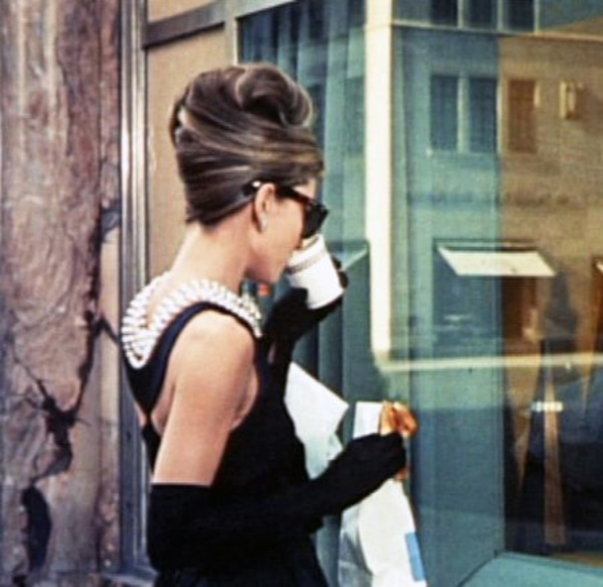 "Holly Golightly/Audrey Hepburn Costume from ""Breakfast at Tiffany's"""