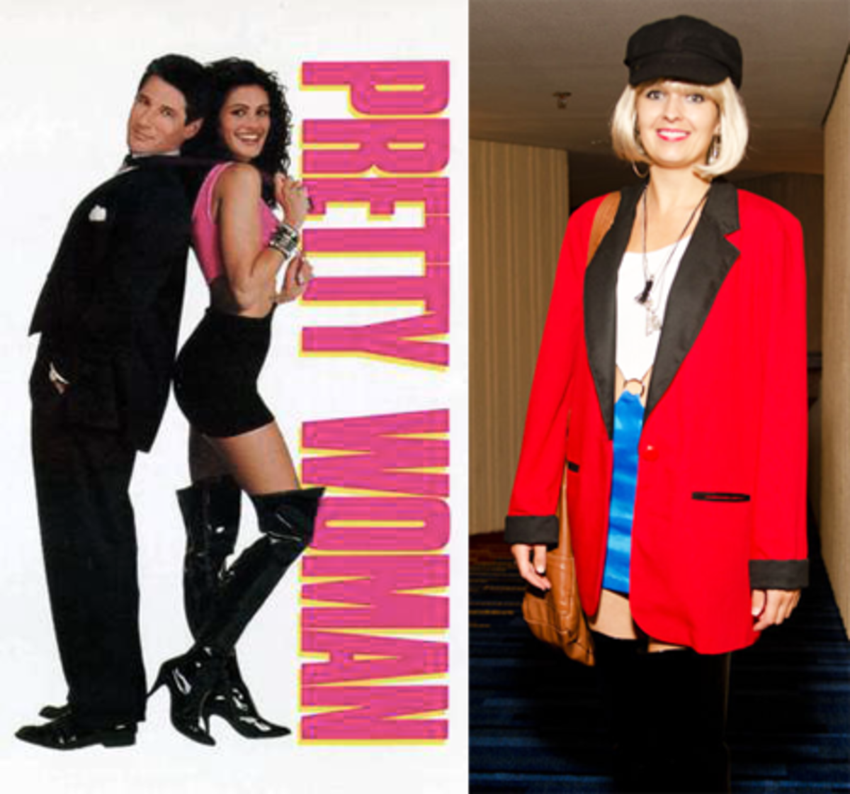 Pretty Woman Costume —  (Pre or post makeover, it's up to you.)