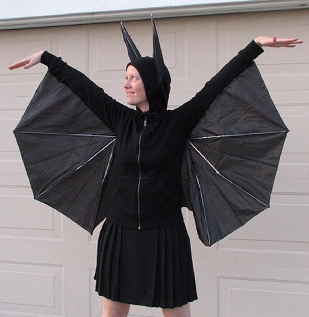 Umbrella Bat Costume