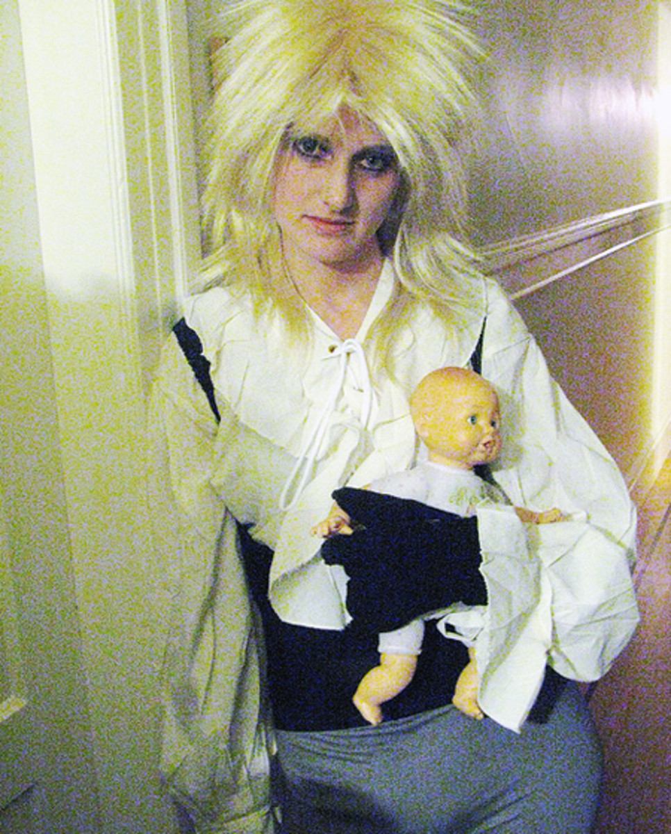 David Bowie from Labyrinth Costume