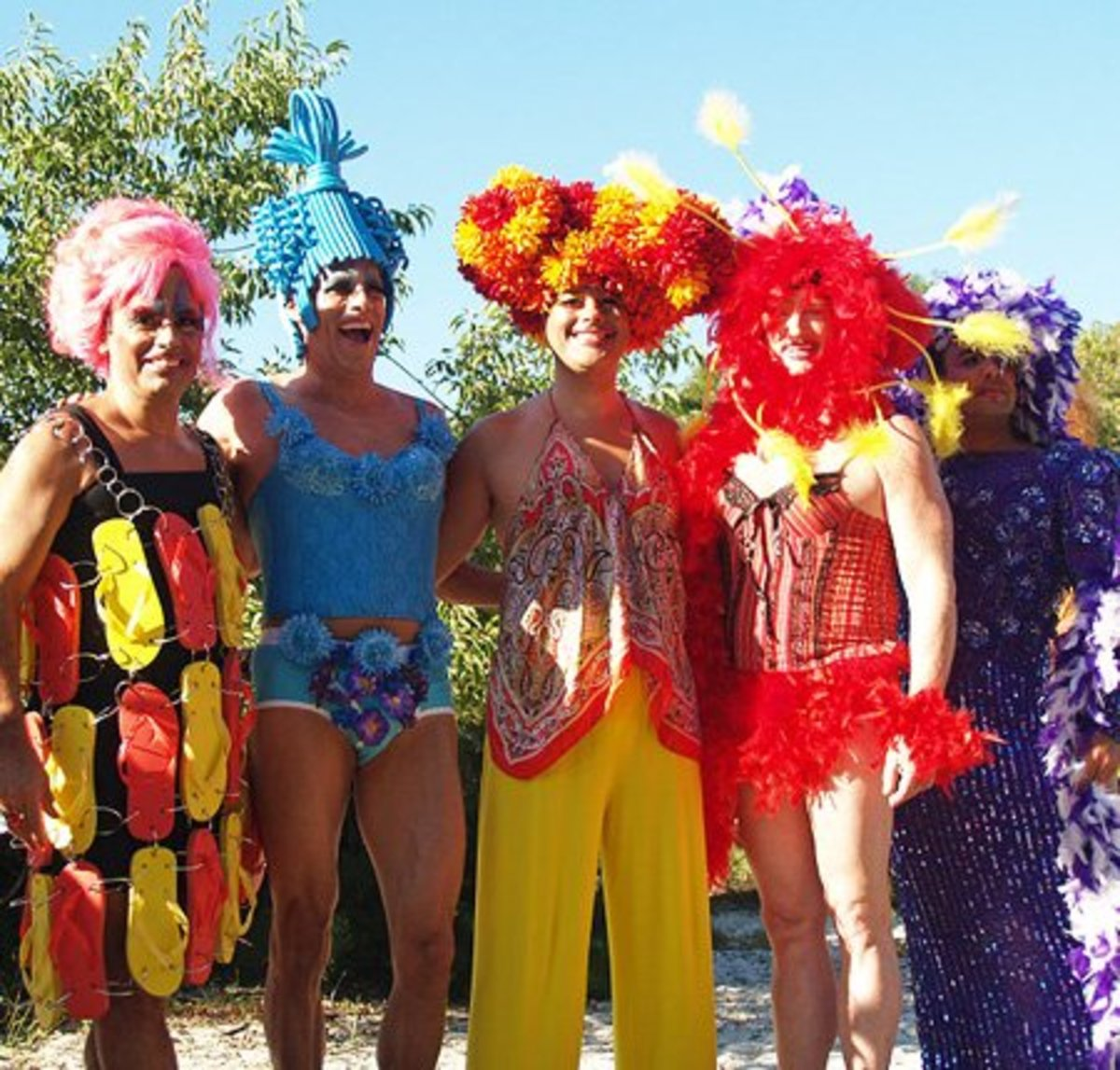 Priscilla Queen of the Desert Group Costume