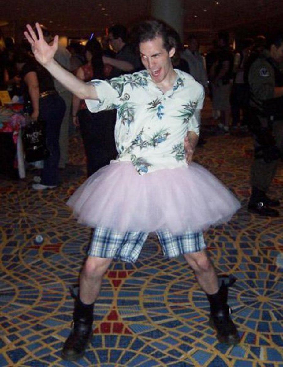 Ace Ventura in a Tutu