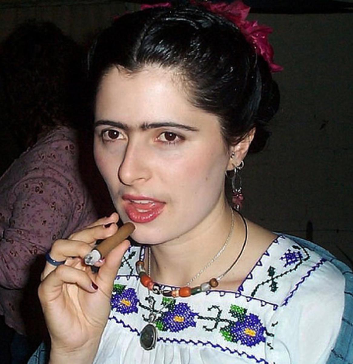 Last Minute Frida Kahlo Costume