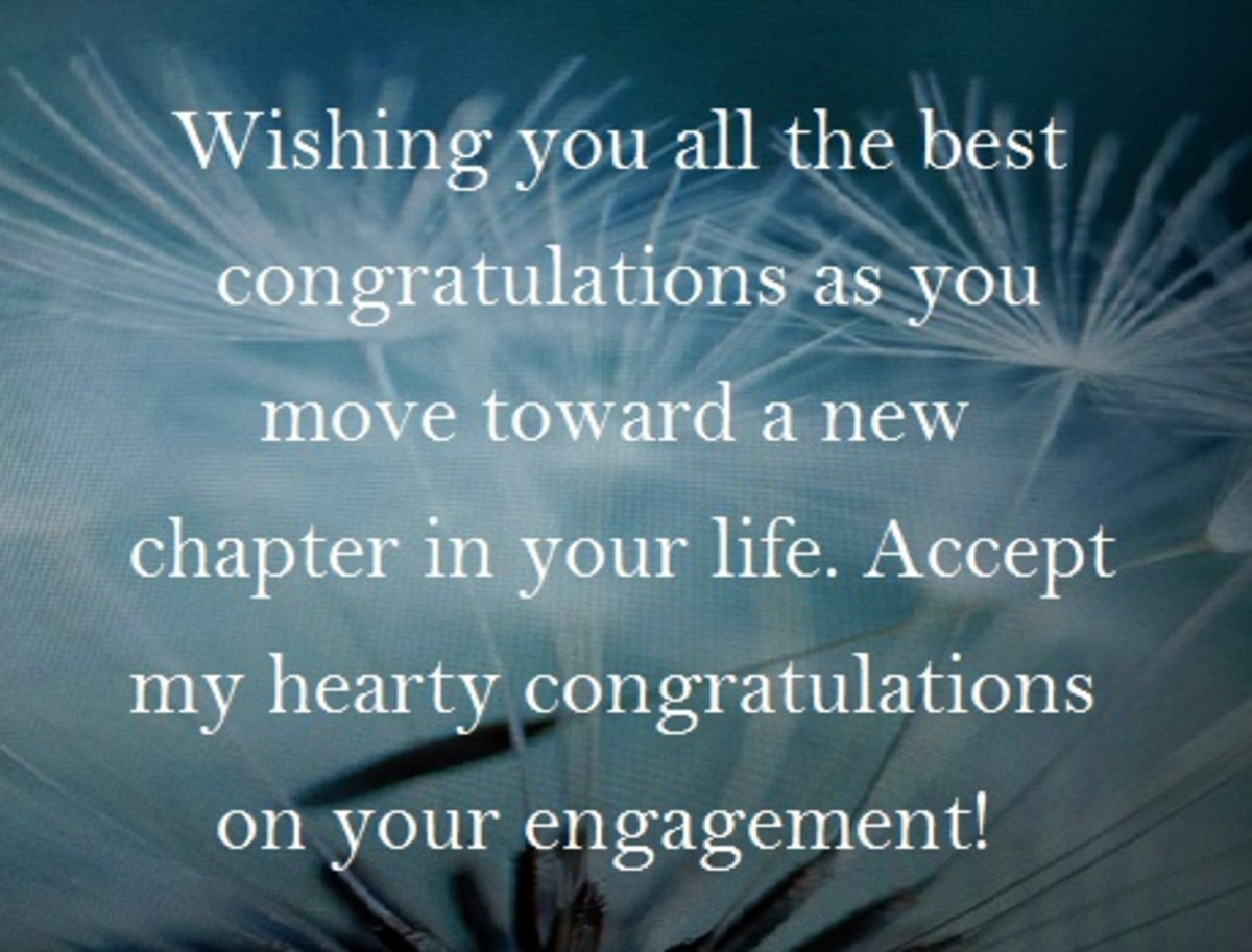 What to write in an engagement greeting card holidappy best wishes for a lovely newly engaged couple and a married life ahead full of love peace and happiness congratulations m4hsunfo