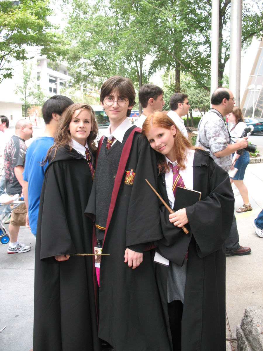 "This is more of an ""authentic"" Hogwarts uniform look!"