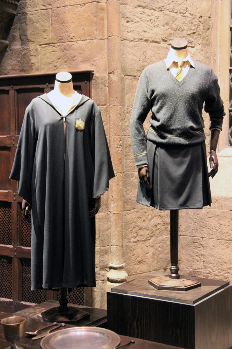 These are the official female costumes for Ravenclaw used in the movies.