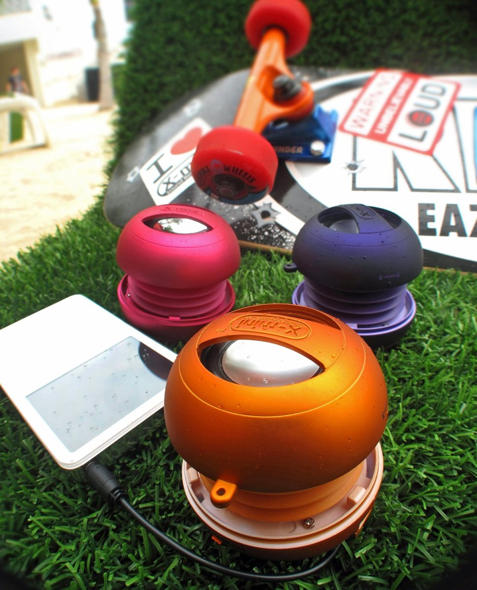 Modern mini portable speakers can put out a big sound, both in terms of overall volume and bass.  These compact audio devices can be used pretty much anywhere and with most devices that produce an audio output.