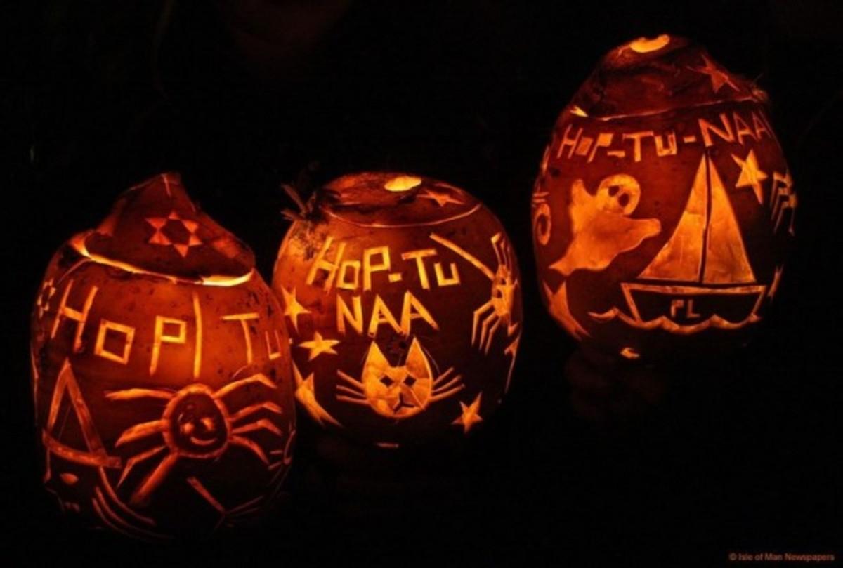 Hop-tu-Naa Jack o'Lanterns.