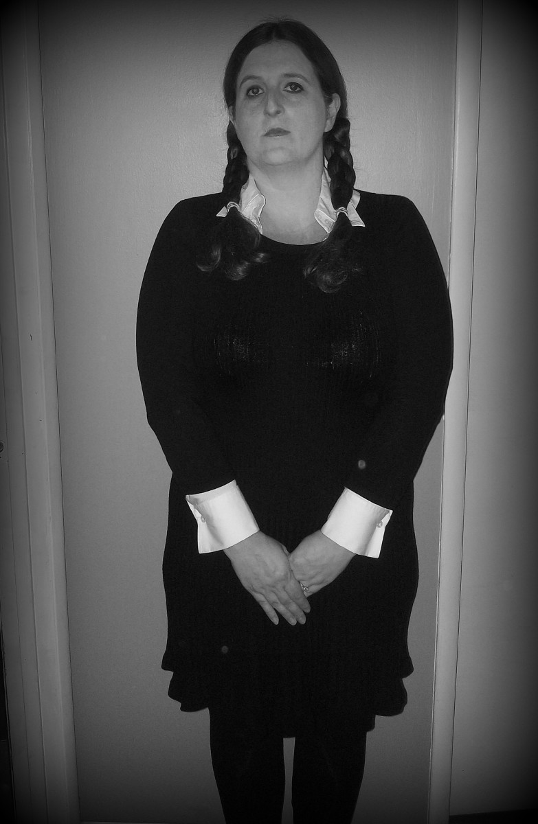 How to Create a Wednesday Addams Halloween Costume