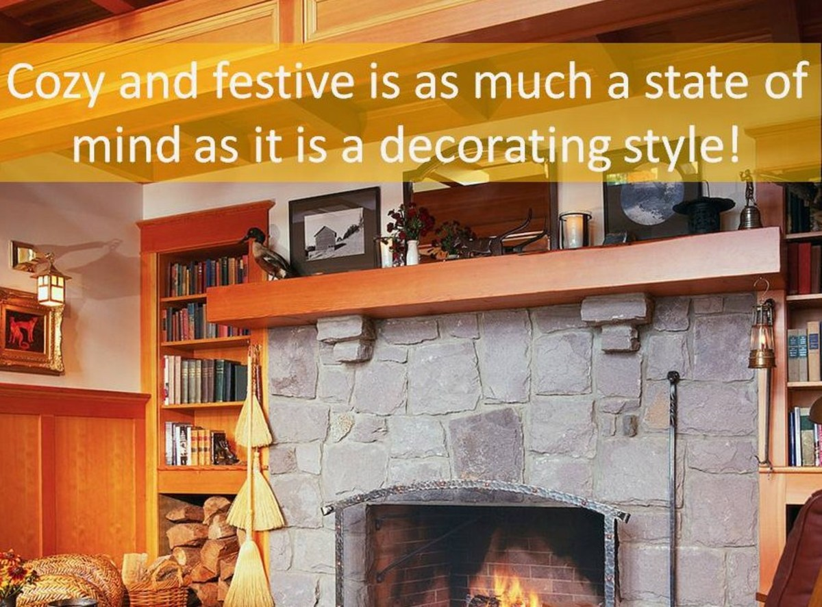 What festive touches would you add to dress up this living room without a Christmas tree?