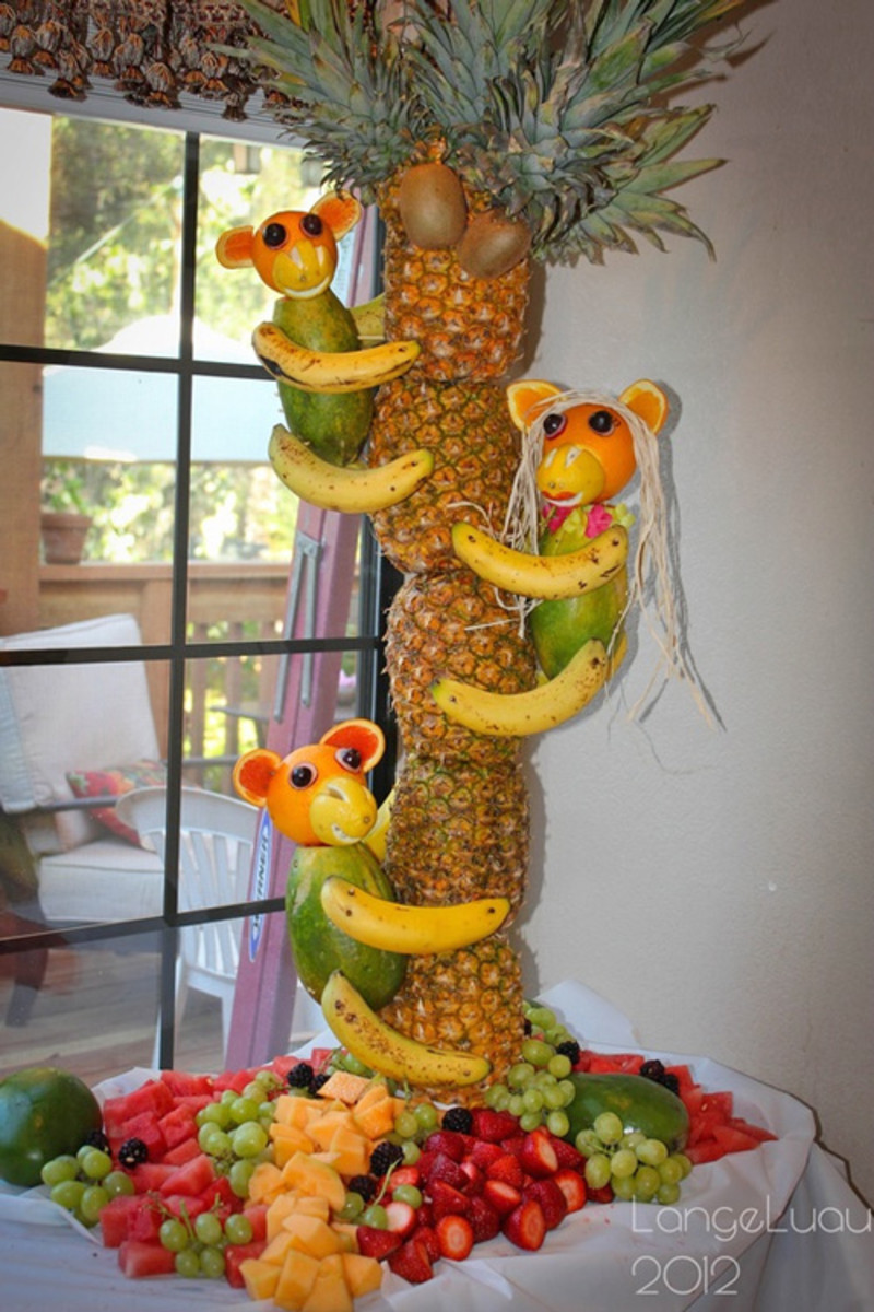 Fun fruit for an animal baby shower theme