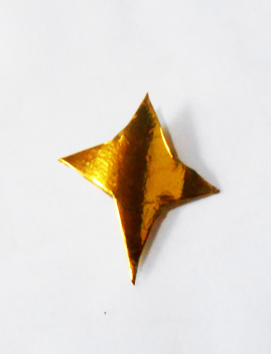 Pic #9: Gold star Christmas tree topper