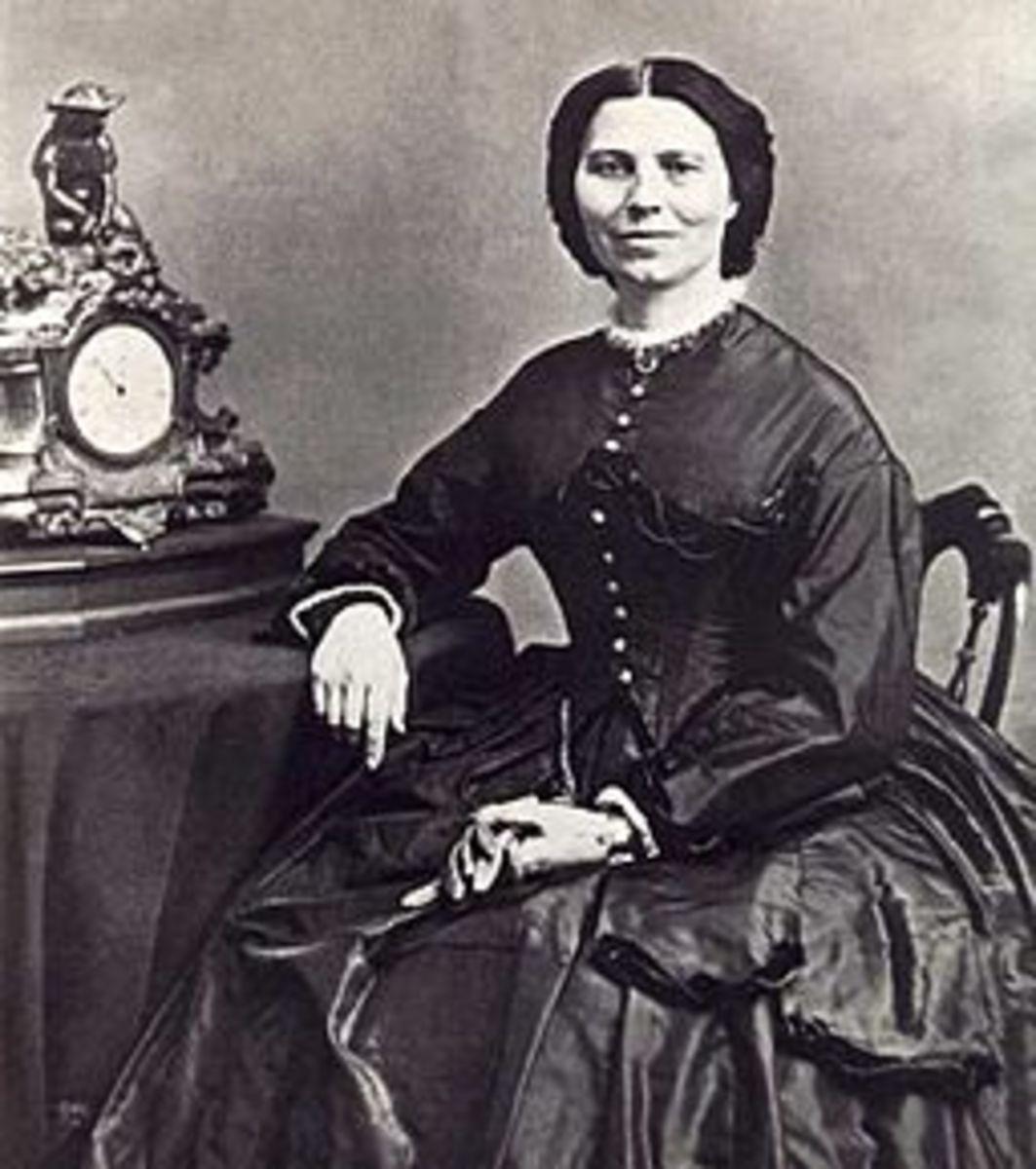 Clara Barton, ca 1865