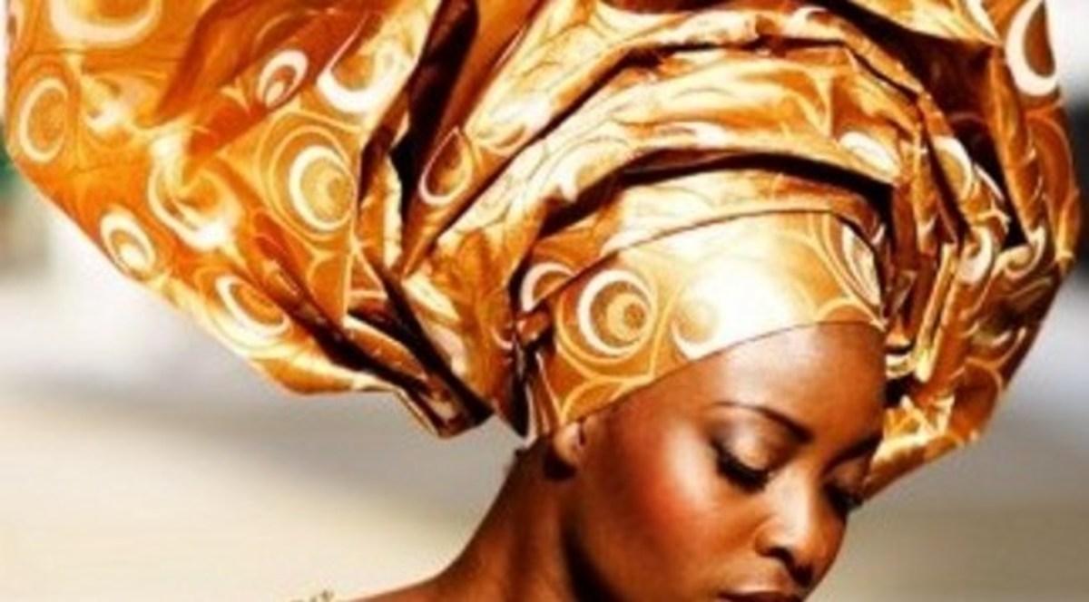 Nigerian head wrap.