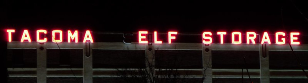 Where Santa stores Elves in the off-season. (You gotta keep them somewhere.)