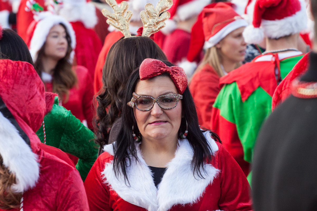 One of Santa's alleged mistresses from the Bronx.  Don't tell Mrs. Claus.