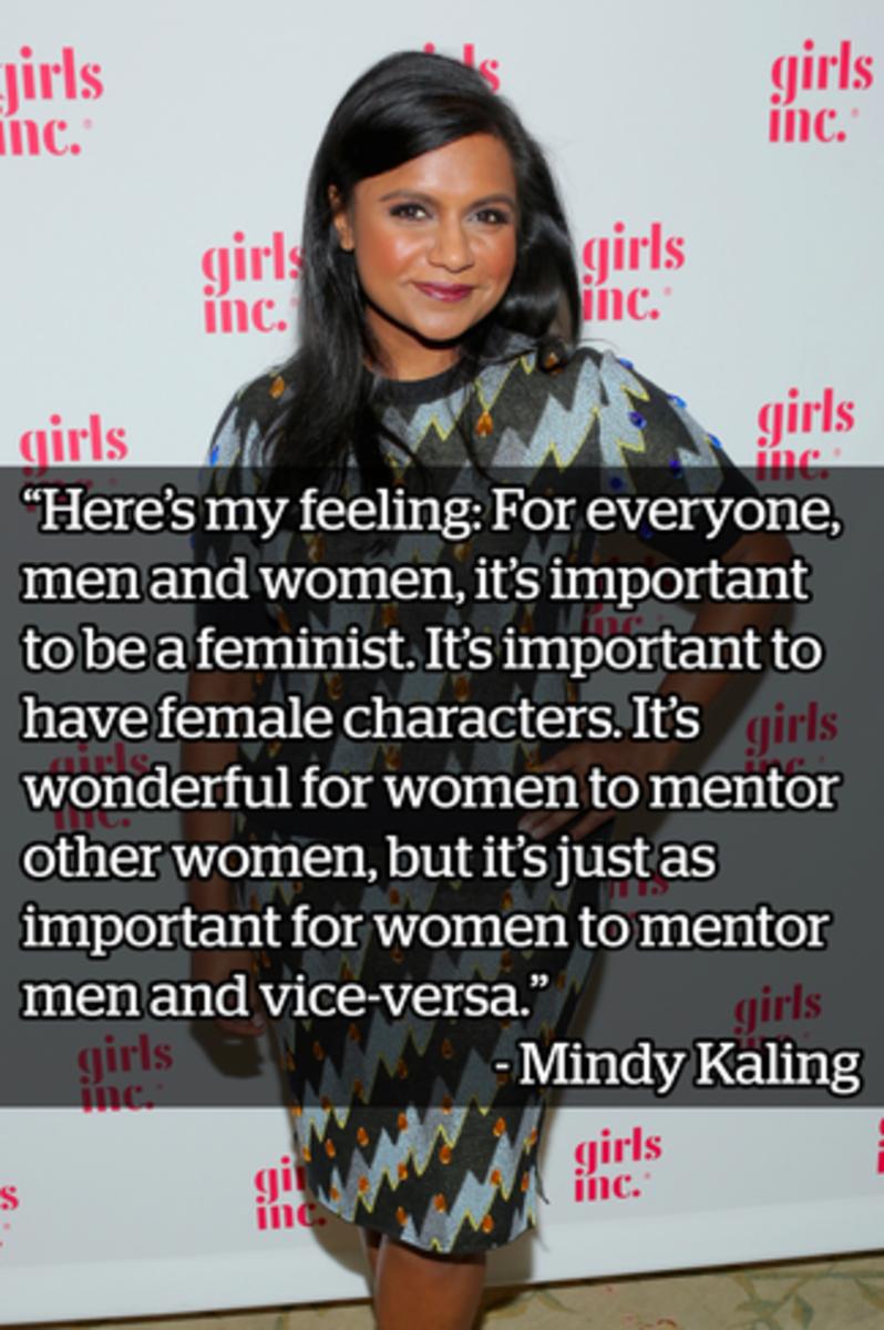 Mindy Kaling.