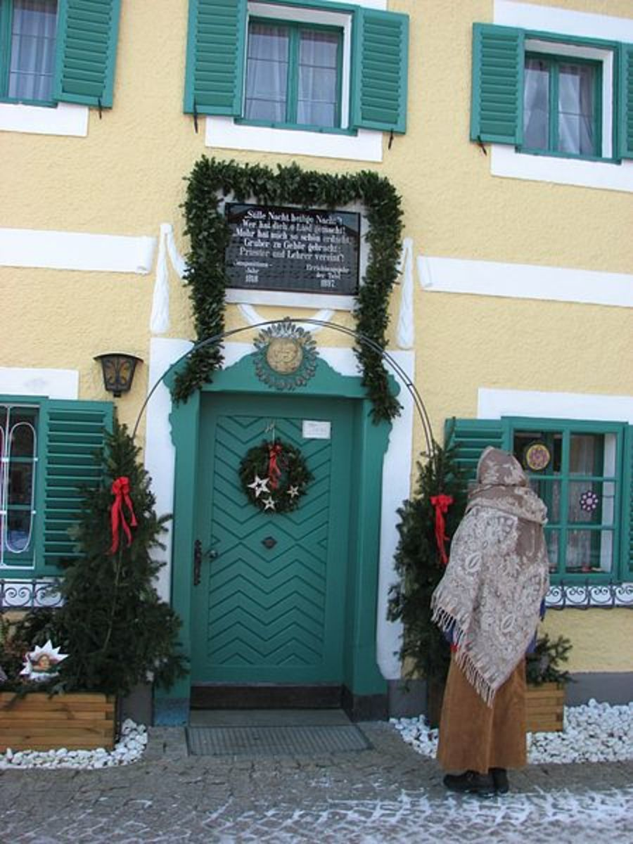 The Franz Xaver Gruber home, school and museum in Hallein, Austria