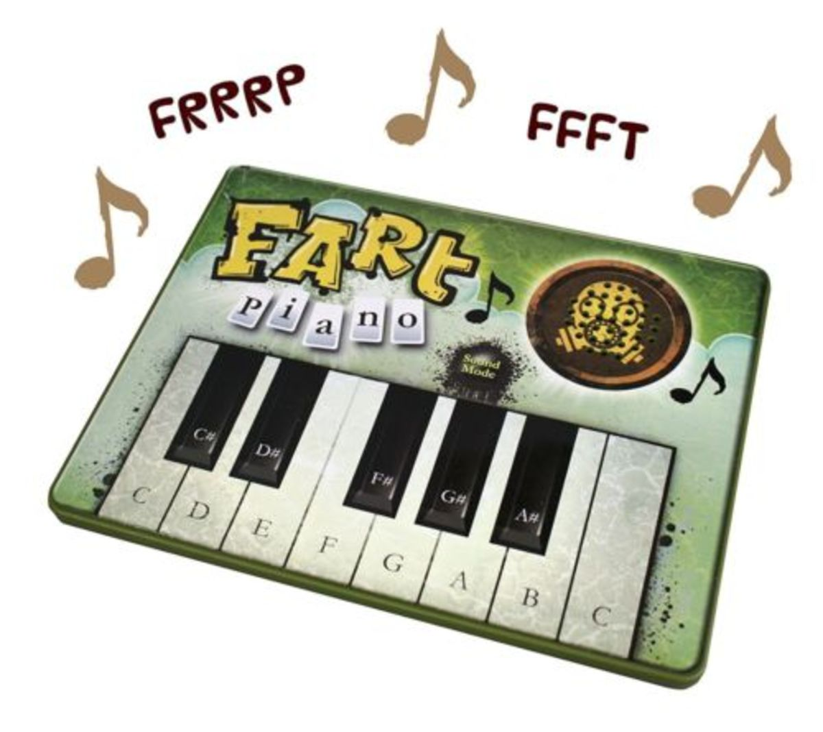 What's funnier than a fart?  Farts set to music!