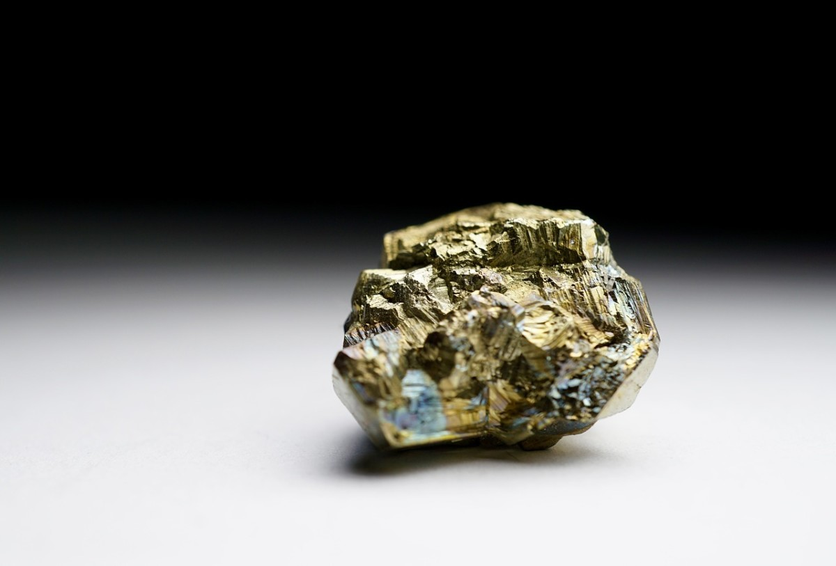 Fool's gold is mineral that resembles gold.