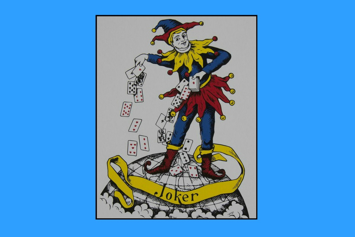 Many decks of cards include two joker cards.