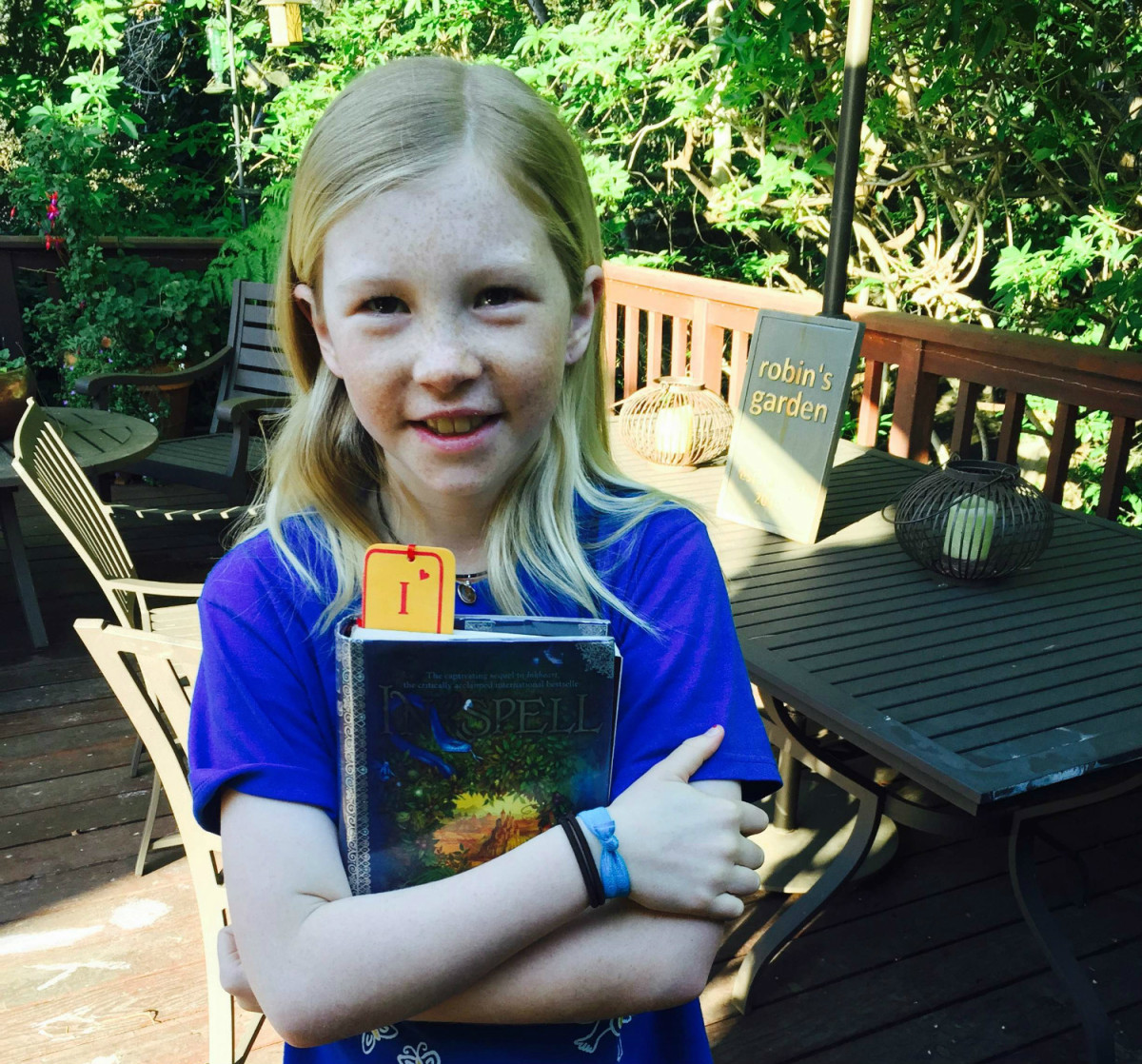 """On to her second book by Cornelia Funke, """"Inkspell""""!"""