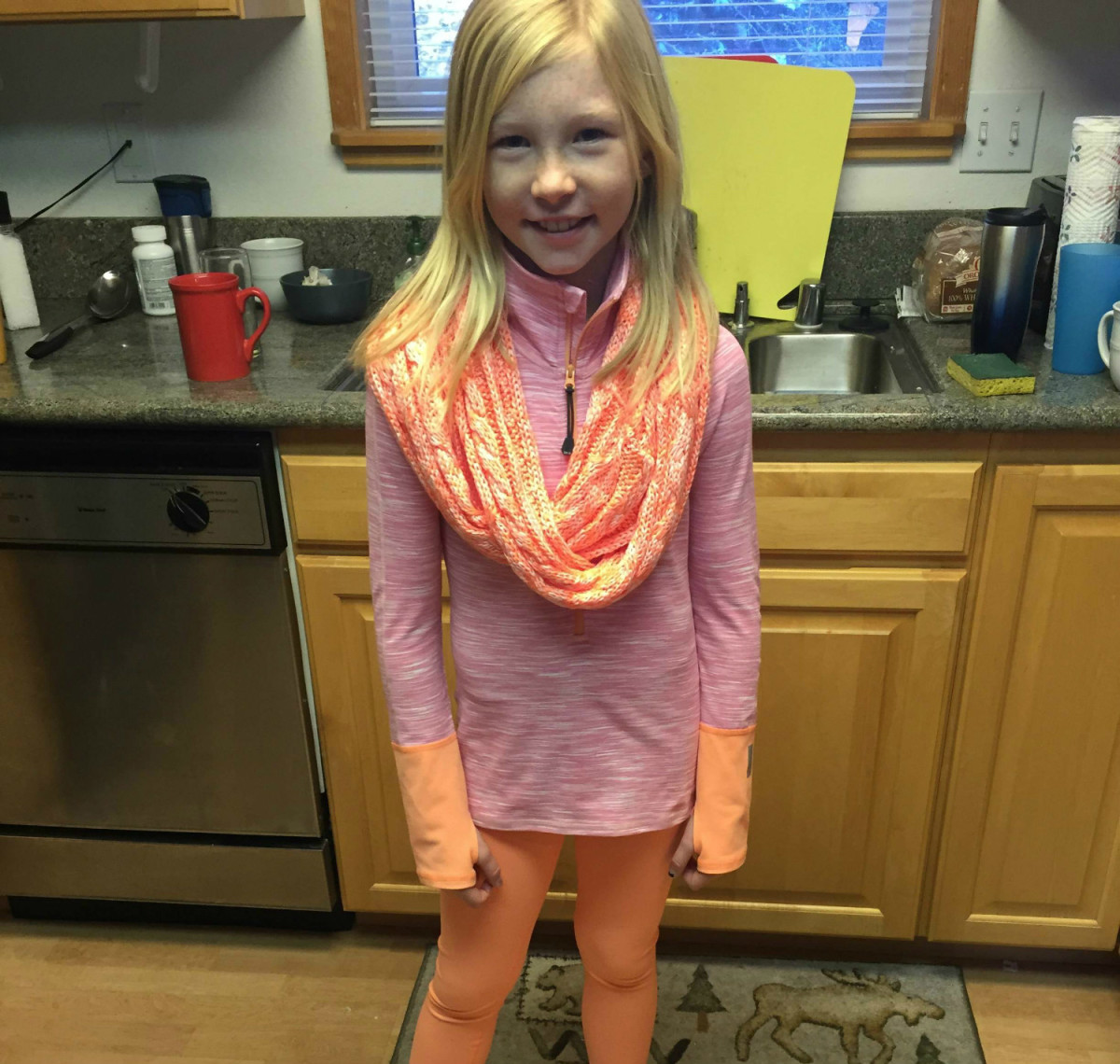 A fun scarf is always a great gift for a young girl.