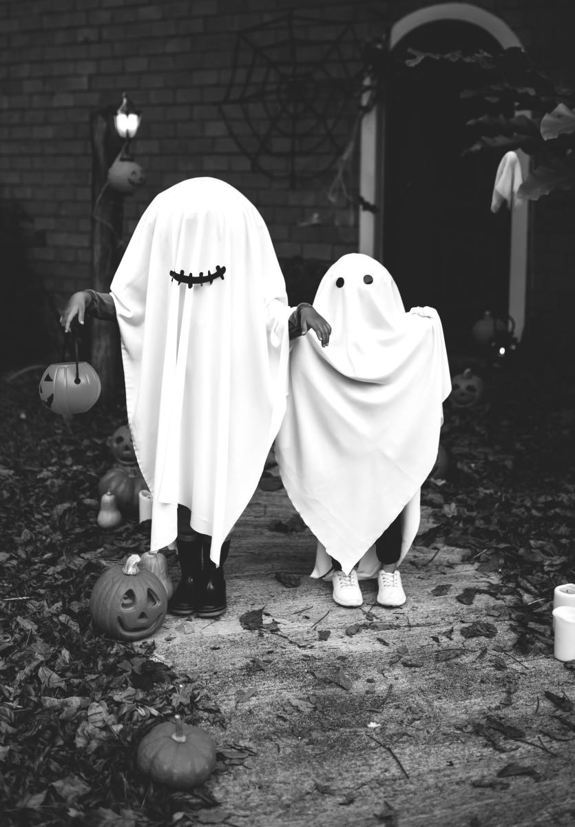 Trick-or-treating is an American tradition.