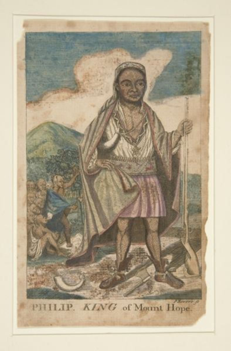 Metacomet, the Wampanoag chief, was also known as King Phillip.