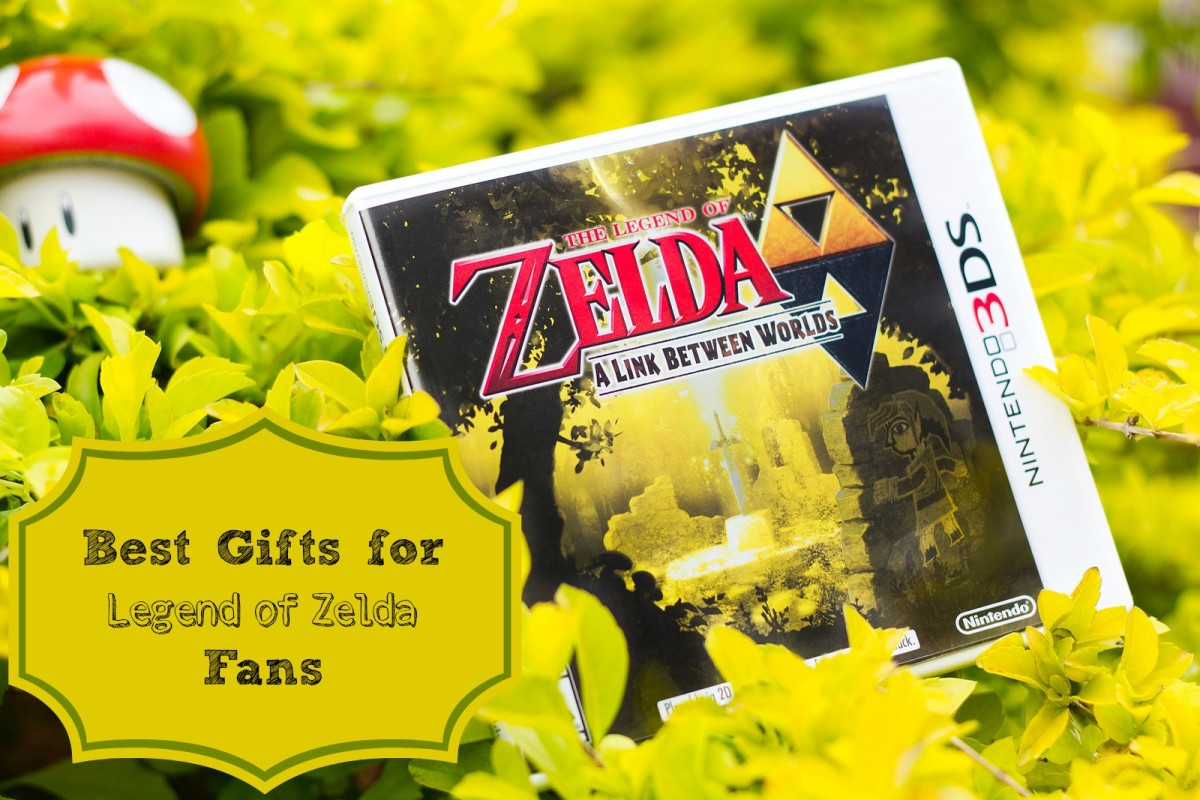 Some of the best gifts for Zelda fans are the games in the series.