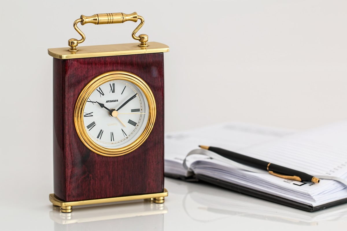 Carriage clocks, small desktop clocks, are a thoughtful gift for valued employees. You can make your gift extra special by having a small engraved plaque attached to the timepiece.
