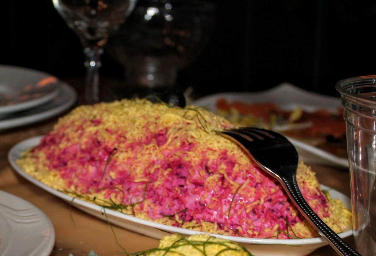 Shuba is a Russian herring salad.