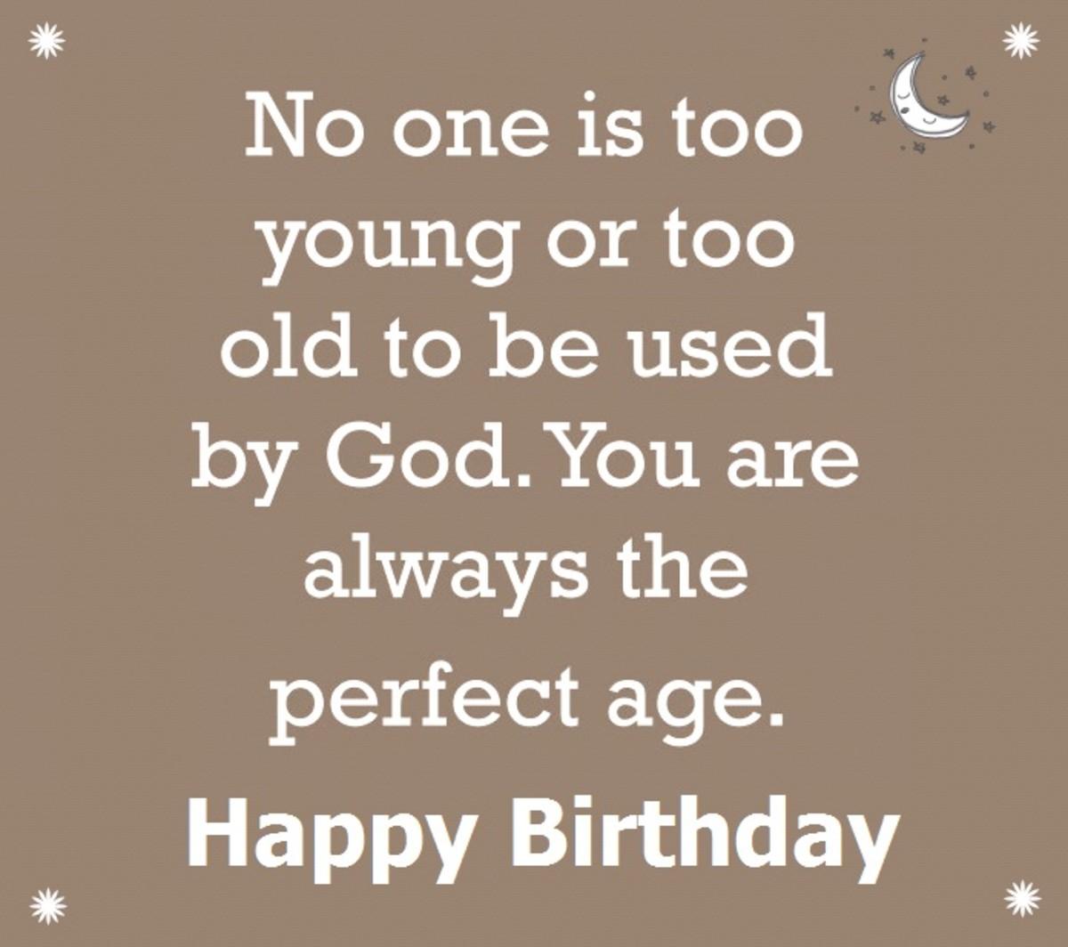 Additional Spiritual Happy Birthday Greetings