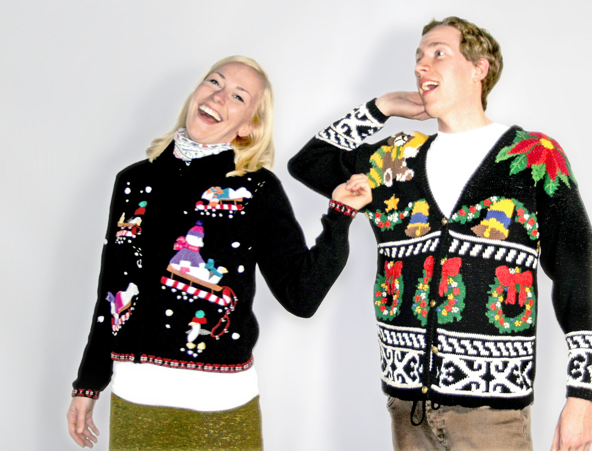 An ugly sweater gift exchange can bring a lot of laughter and fun to your holiday party.