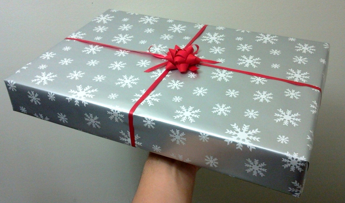Remember to spend time wrapping your gift exchange present to make it look pretty and inviting.