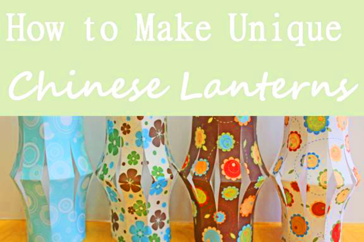 How to Make Unique Chinese Lanterns -- see below for link to site  Kid Crafts for Chinese New Year
