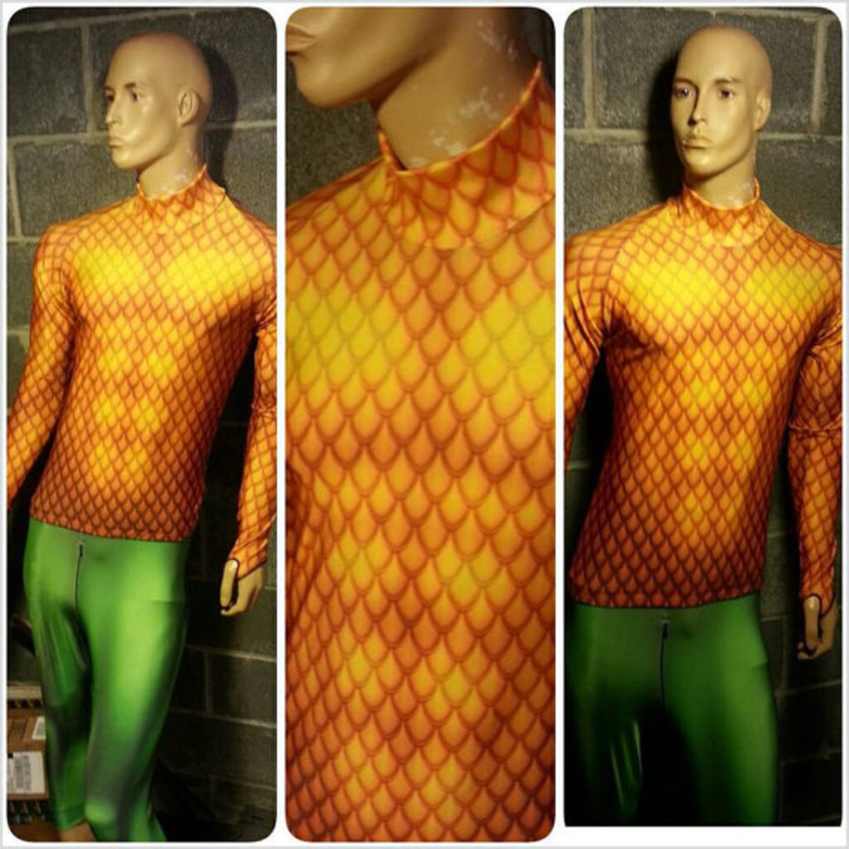 DIY How To Make An Aquaman Halloween Costume