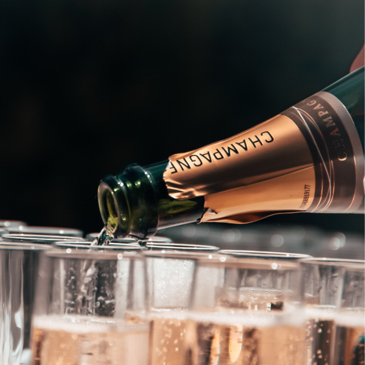 Champagne tends to be more expensive than wine, so it is traditional to save it for only the most important occasions.