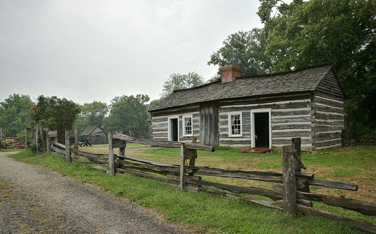 Lincoln Log Cabin State Historic Site, near Charleston, Illinois