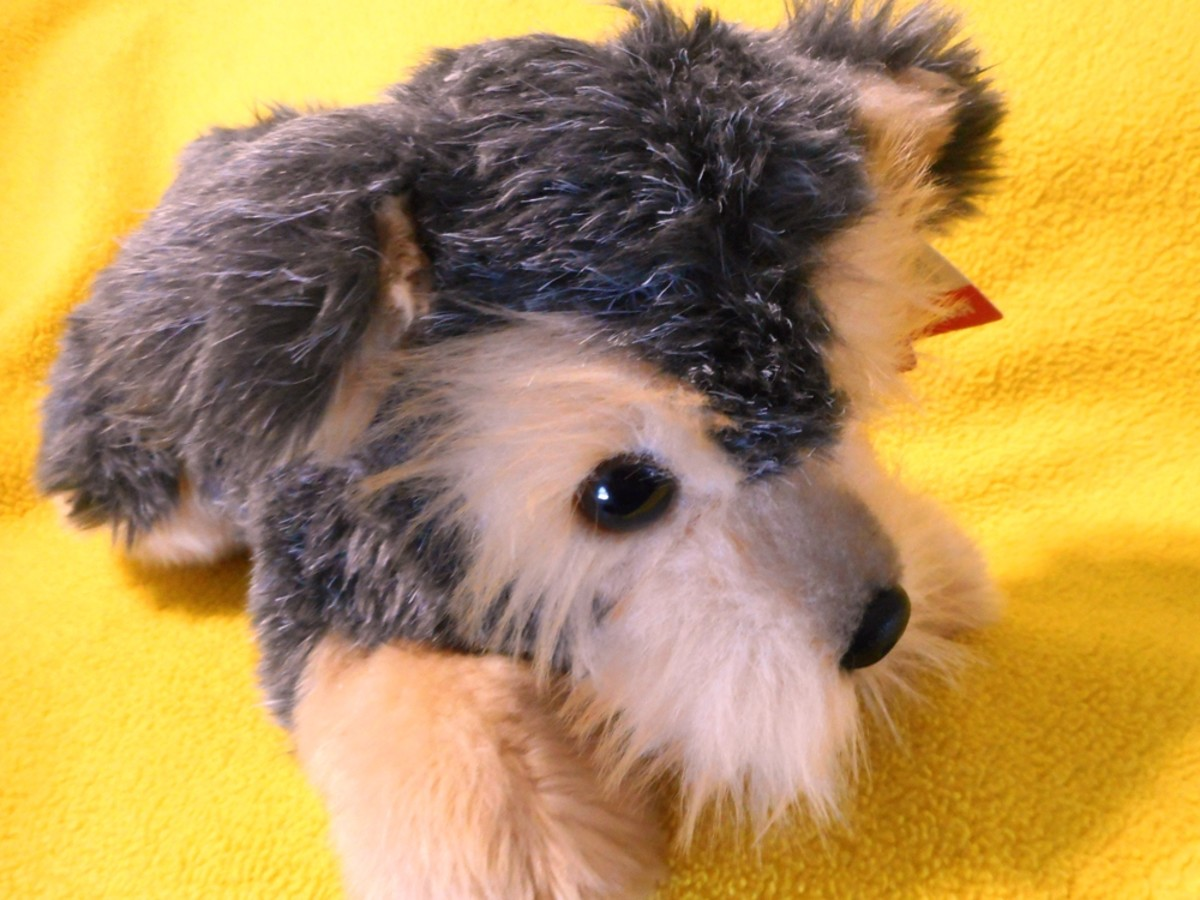 Flopsie Yorkie Plush Toy