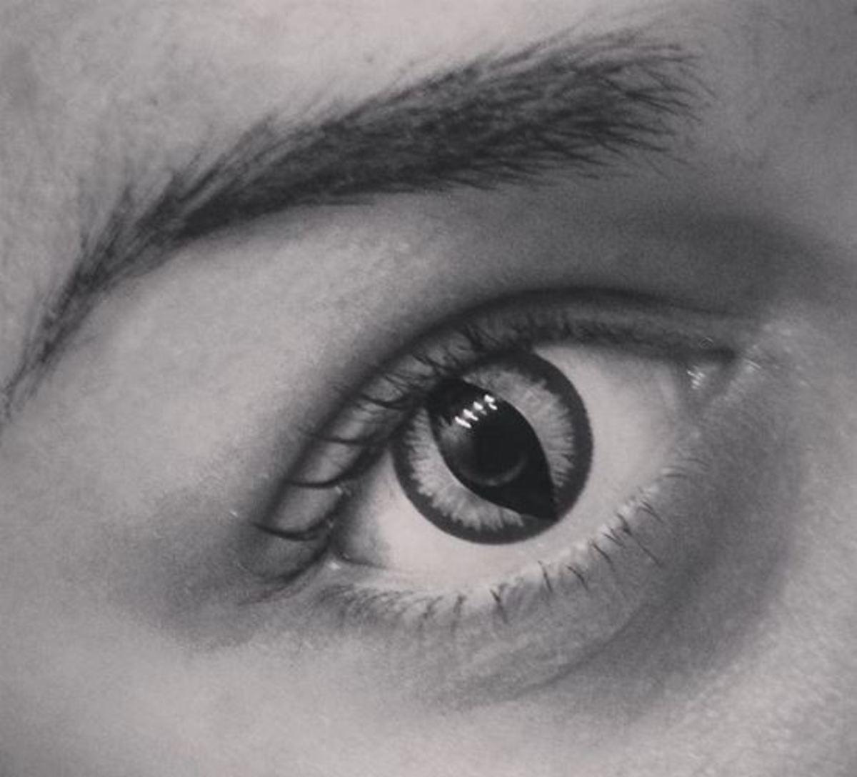 "The lenses I got are ""Banshee"" by Gothika."