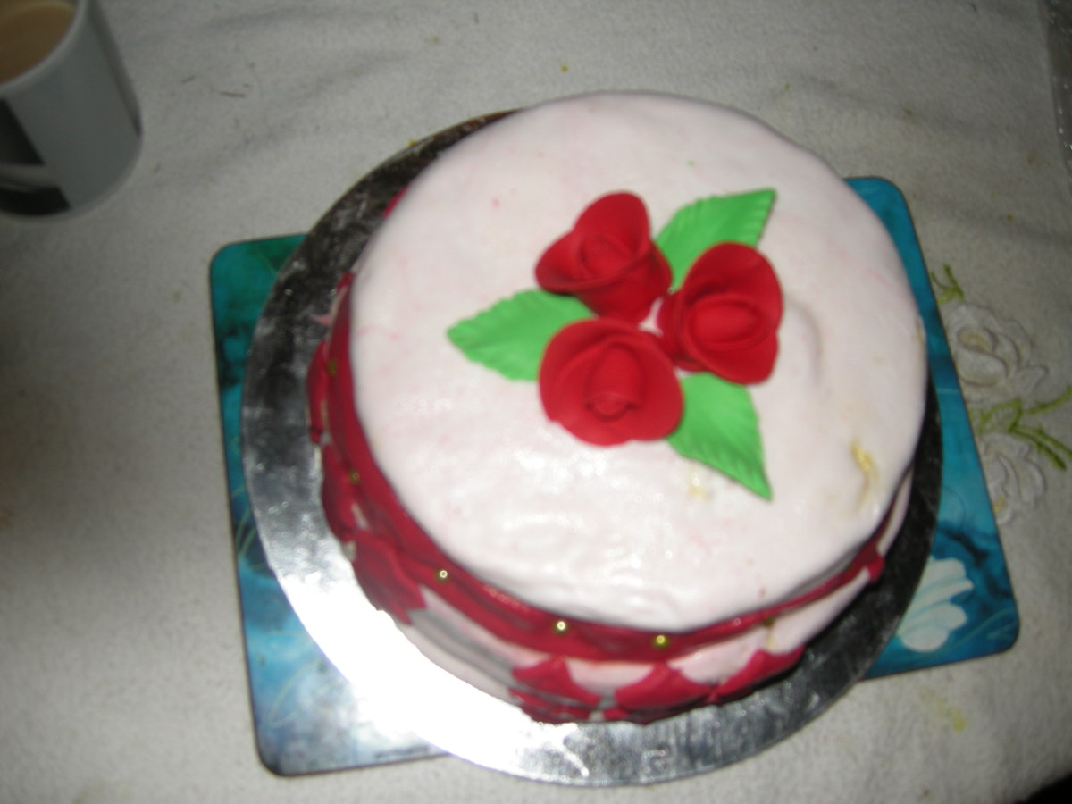 Christmas cake as a gift for in - laws can be impressive