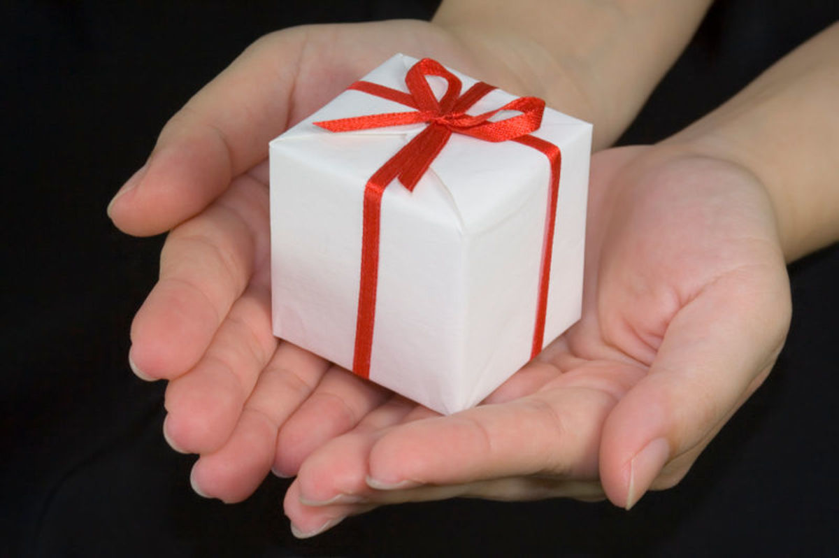 """""""It is more blessed to give than to receive."""" -The Bible"""
