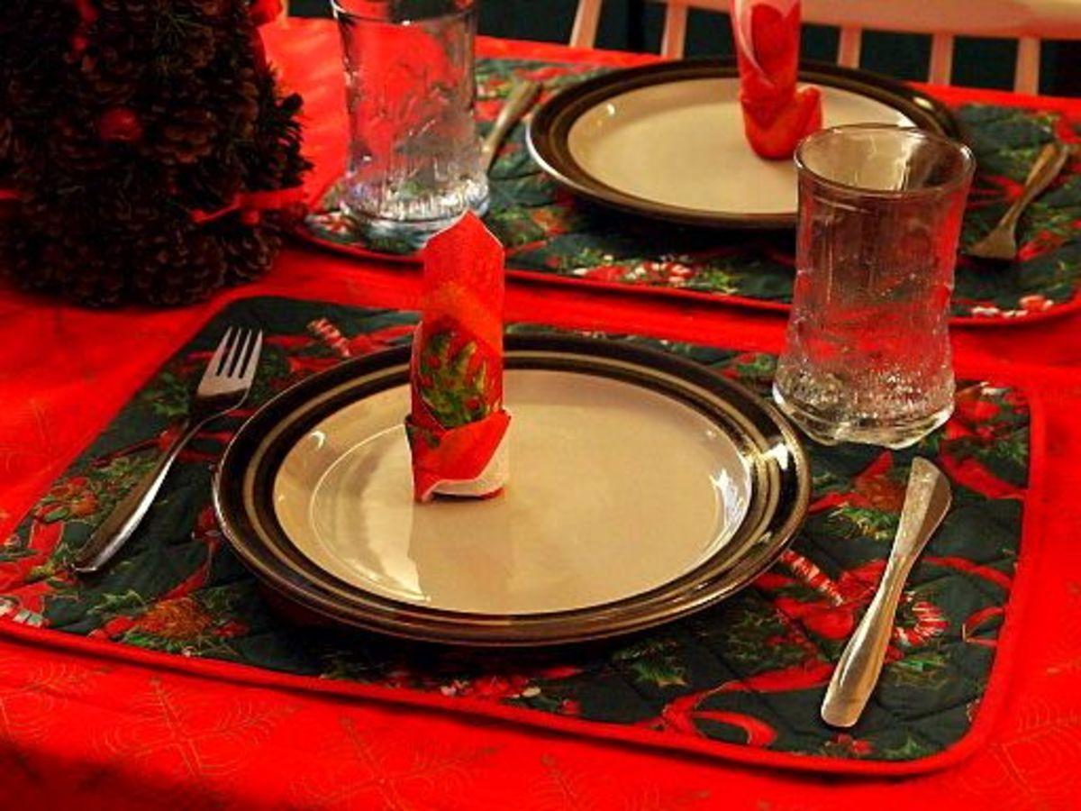 Christmas meal.