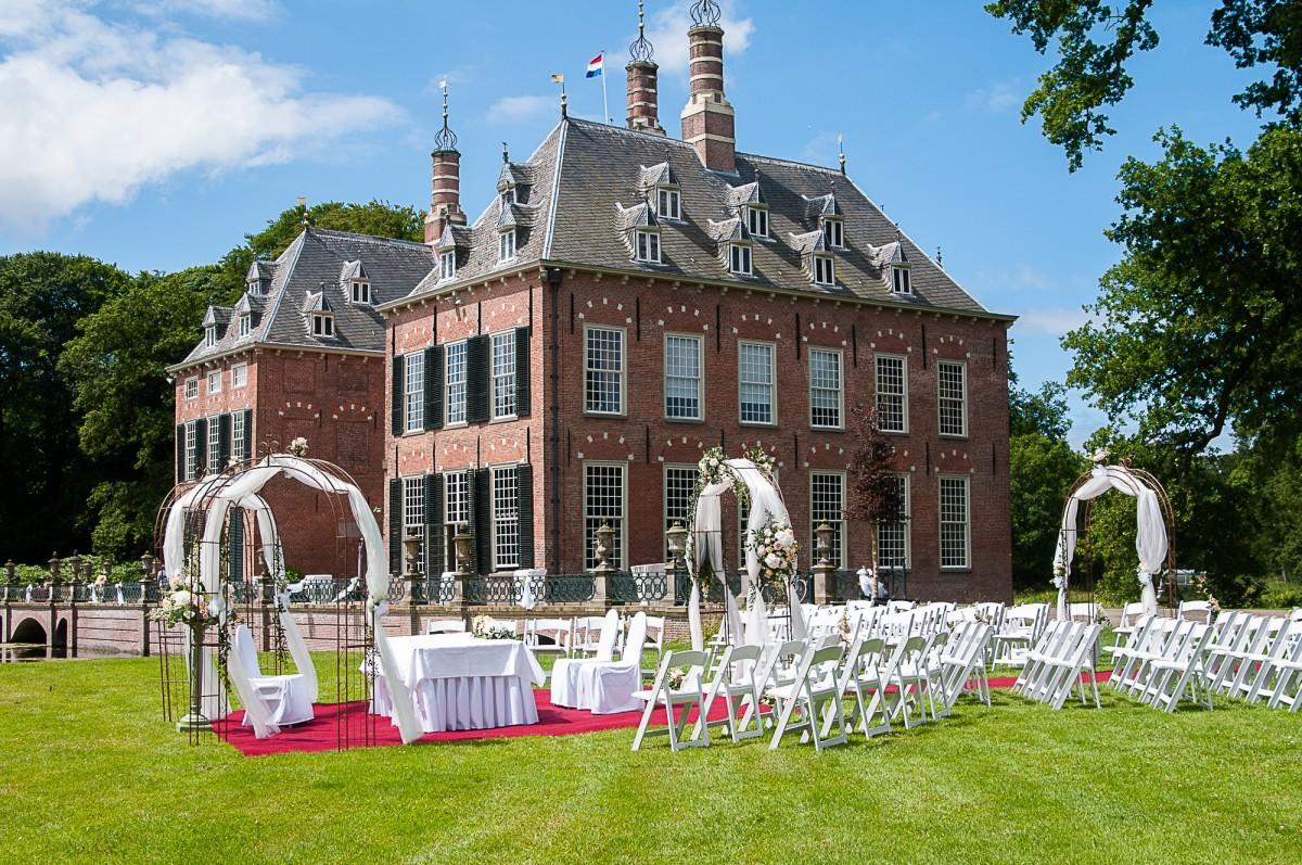 Duivenvoorde castle between The Hague and Leiden