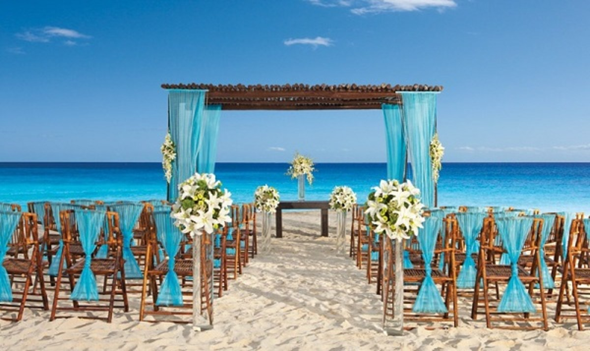 Beach wedding...