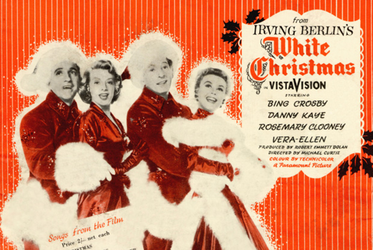 1954 White Christmas Starring; Bing Crosby, Danny Kaye, Rosemary Clooney, Vera-Ellen