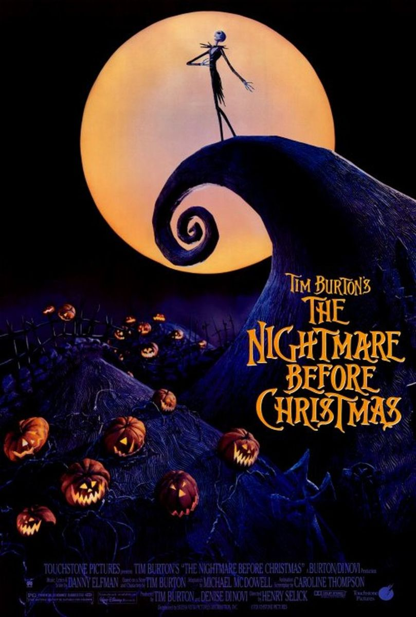 The Nightmare Before Christmas (1993); Starring: Danny Elfman, Chris Sarandon, Catherine O'Hara, & William Hickey